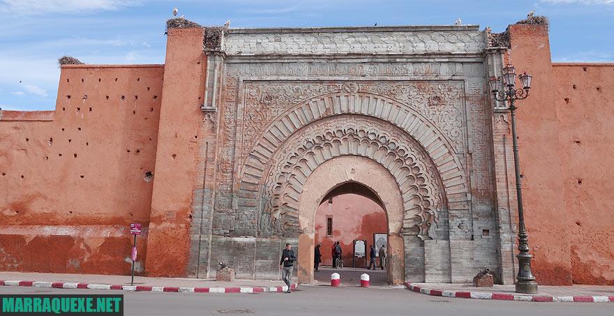 O que ver e visitar em Marrakech - foto da Bab Agnaou