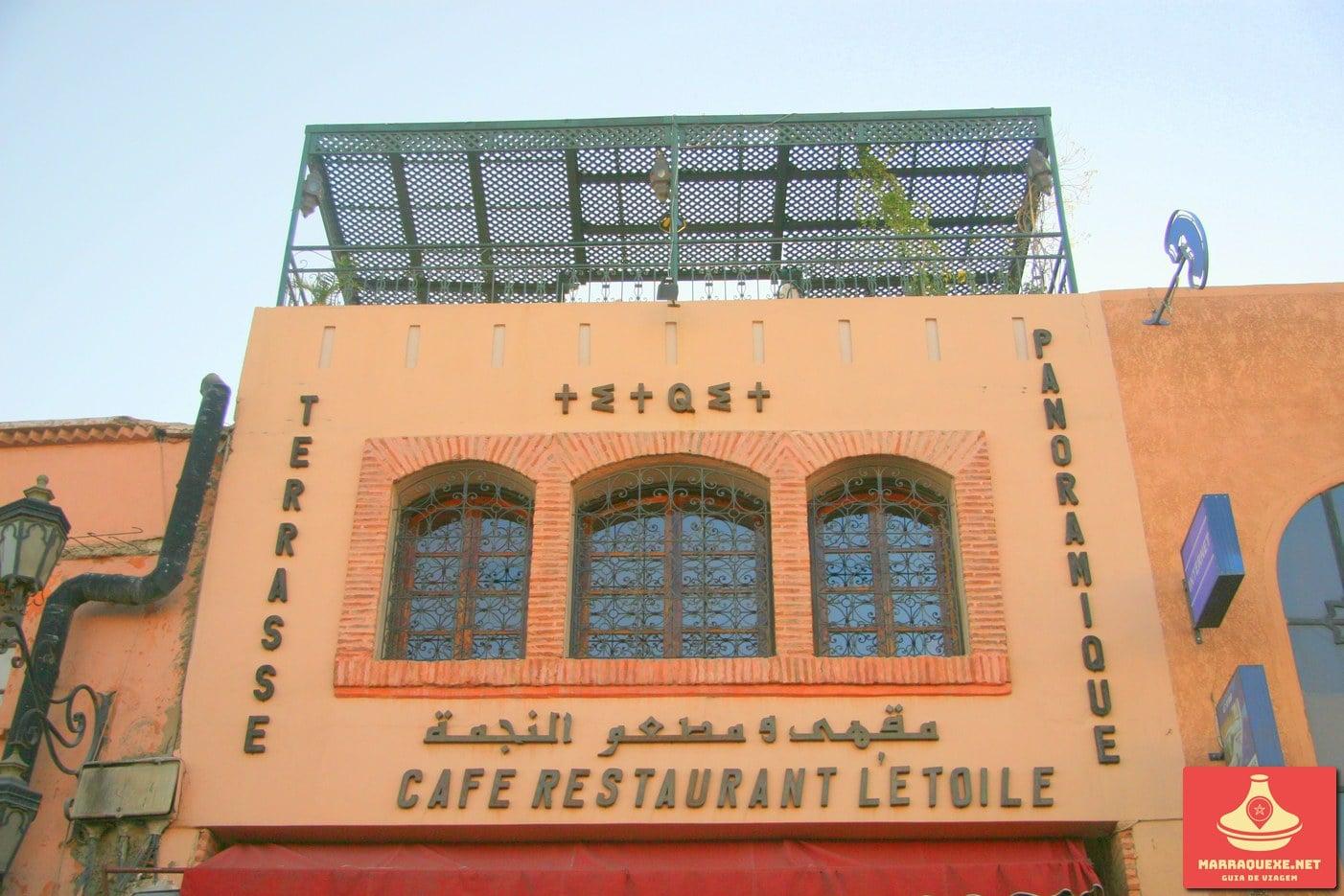 Cafe Restaurant Etoile Marraquexe