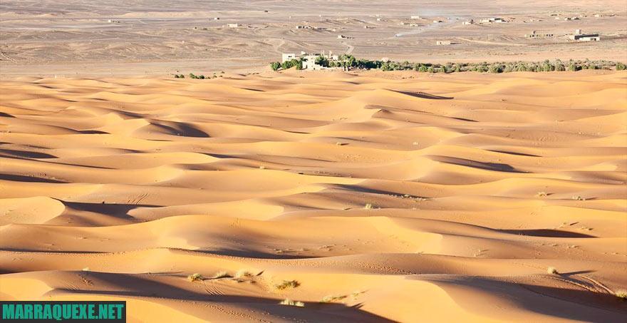 Dunas de Erg Chebbi, o deserto desde Marrakech
