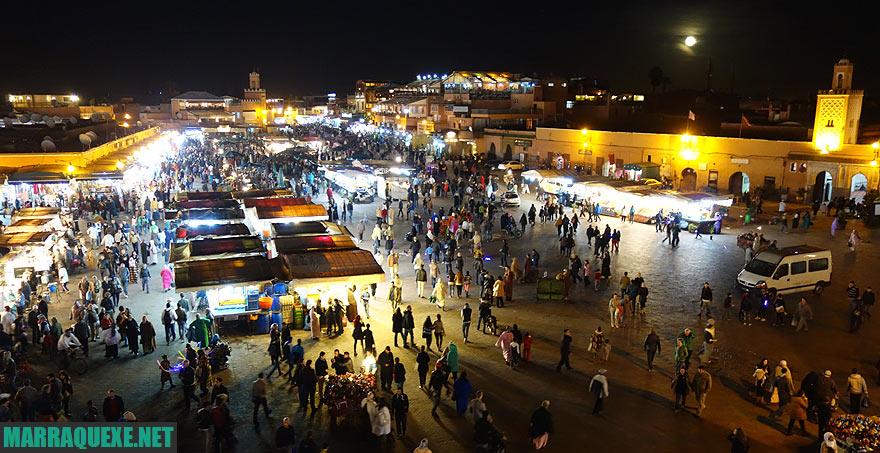 Praça Jemaa El Fna, Marrakech