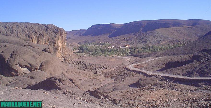 Oasis Fint em Ouarzazate