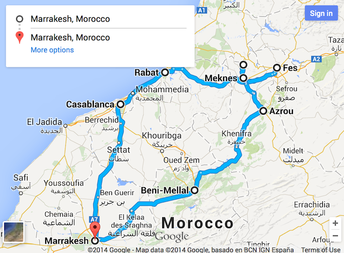 Tour Cidades Imperiais desde Marrakech