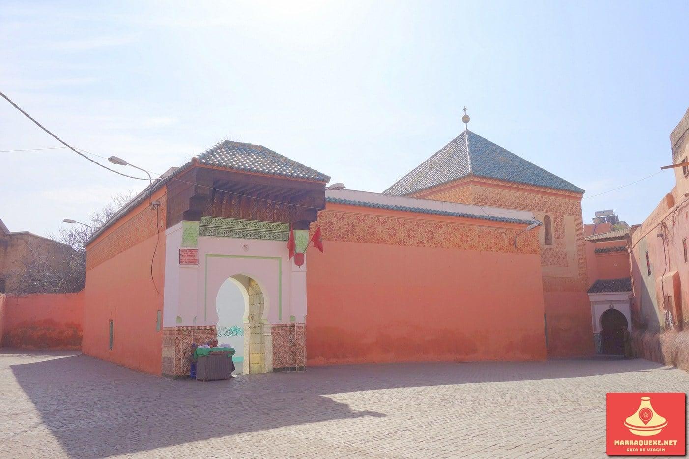 Zaouia de Abdullah al Ghazwani em Marraquexe