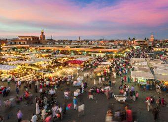 Jemaa el-Fna Marraquexe Marrocos