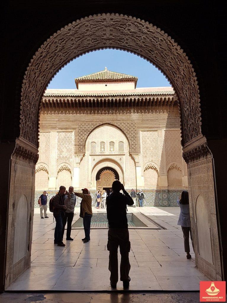 Arquitectura saadiana em Marrakech