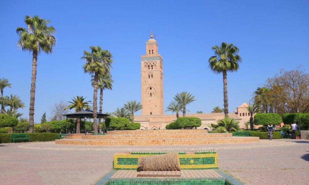 Mesquita Koutoubia em Marrakech