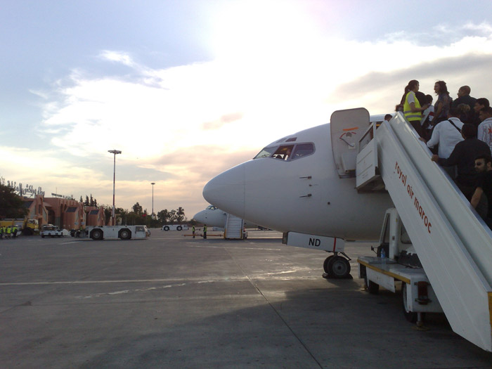 Photo of low-cost airline in Marrakech airport