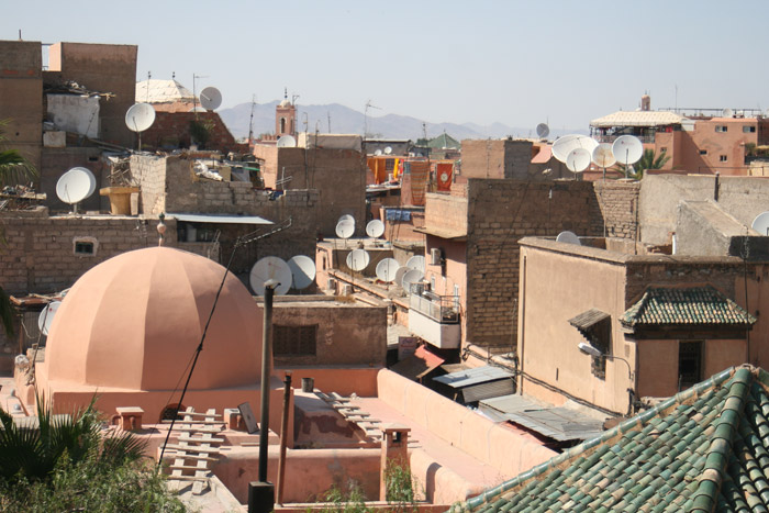 Photo of Marrakech roof tops at Riad Zitou Kedim district